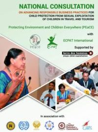 National Consultation On Advancing Responsible Business Practices For Child Protection From SECTT – 2017