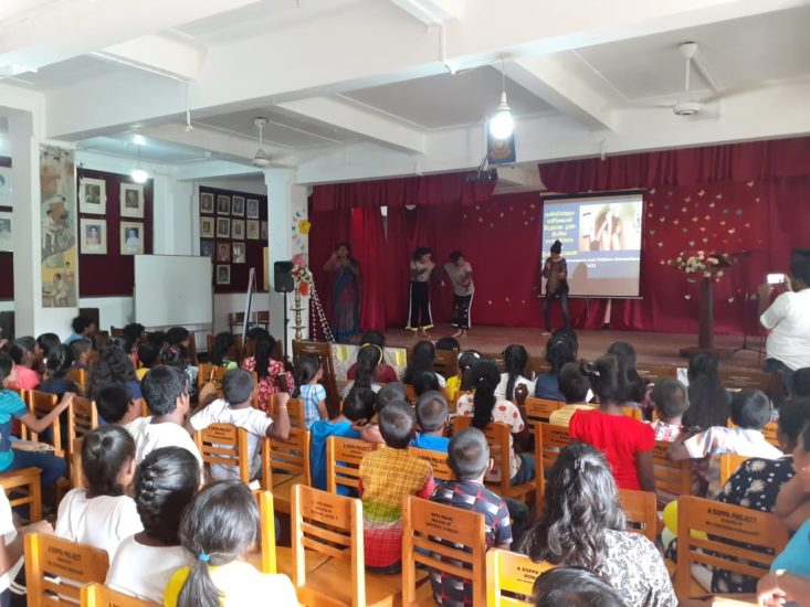 Awareness Program – School for the Deaf and Dumb